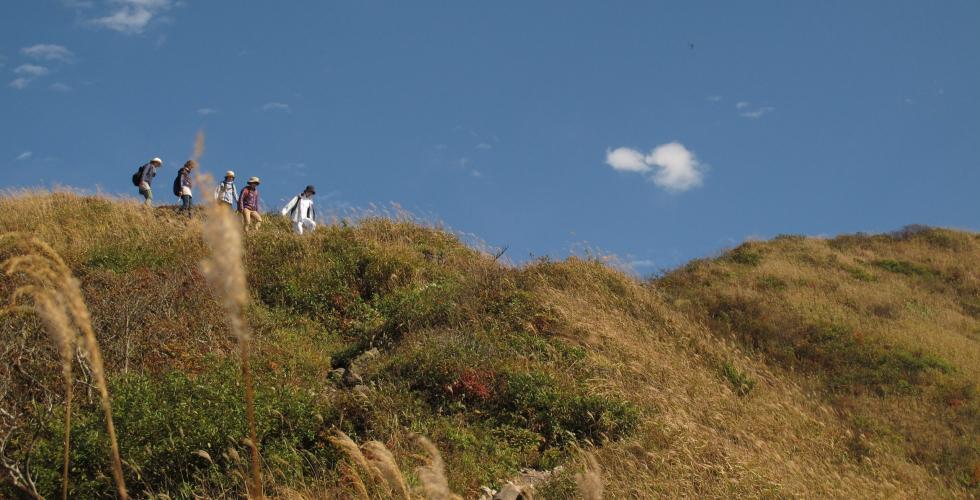 三瓶山登山コース