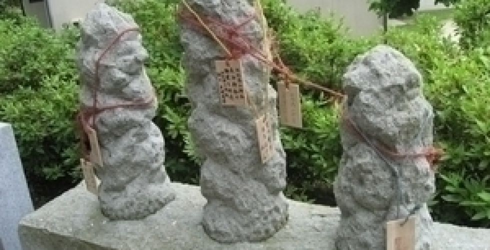 佐比賣山神社(叶え杭)
