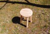 木の椅子作り